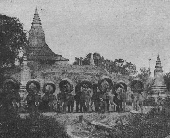 French [statesman] tour in Nan Province, 1902