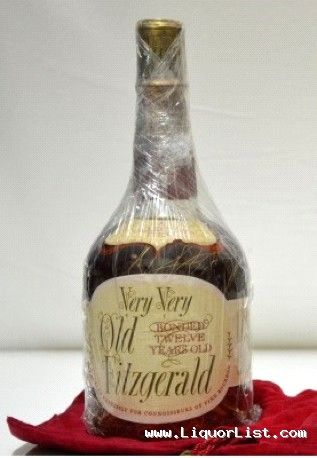 RARE Very Very Old Fitzgerald Kentucky Bourbon 1962 FOR ...