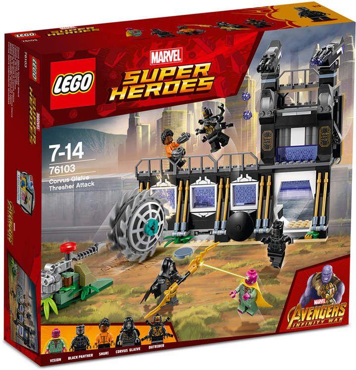 Lego Super Heroes Corvus Glaive Thresher Attack 76103 Lego Marvel Super Heroes Corvus Glaive Lego Marvel S Avengers
