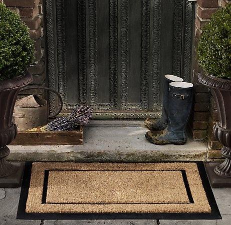 Wellies by the front door.