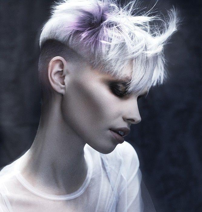 Ashley Gamble Short White Hairstyles