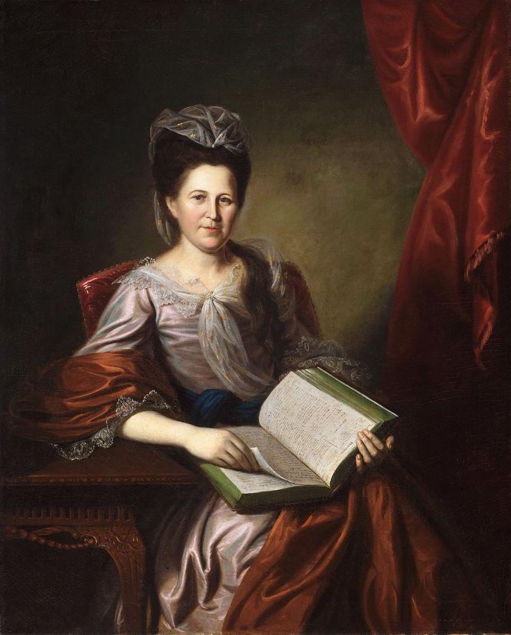 Charles Willson Peale (American, 1741-1827). Margaret Hodge, Mrs. John B. Bayard, 1780, Oil on canvas. Milwaukee Art Museum.