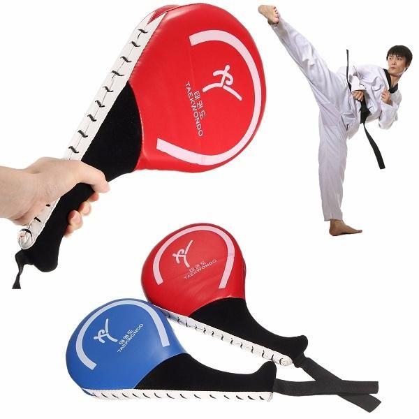 US Taekwondo Double Kick Pad Target Tae Kwon Do Karate Kickboxing MMA Training