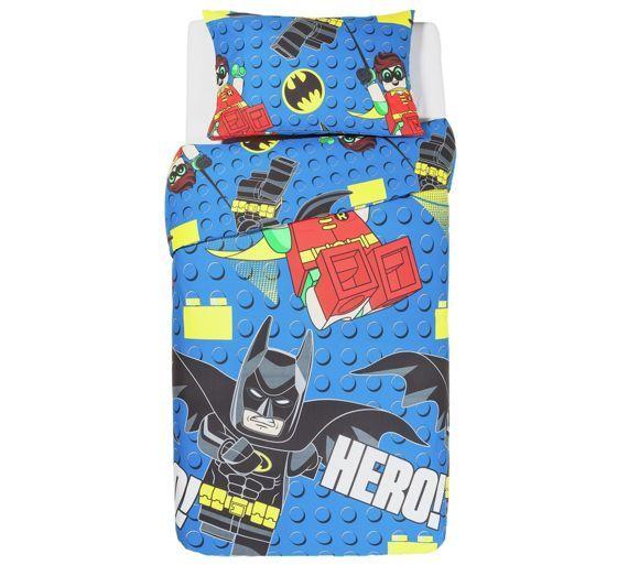 Buy LEGO Batman Bedding Set - Single at Argos.co.uk, visit Argos.co.uk to shop online for Children's bedding sets, Bedding, Home and garden