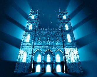 Notre-Dame Basilica of Montréal - And Then There Was Light - Saturday night at 7 and 830pm