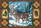 Wolf Lodge Rustic Tapestry Placemats Set of 4