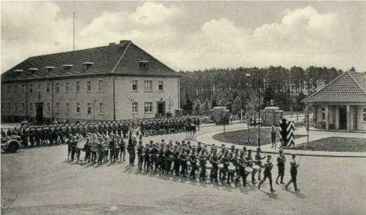 The Wermacht on parade in Hohne Camp Hohne Camp Collective ...