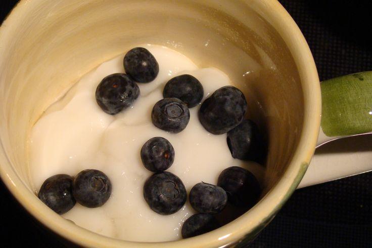 High Protein Blueberry Breakfast Mug Cake  (Gluten Free, Dairy Free, Vegan)