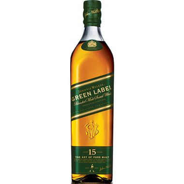 Johnnie Walker Green Label has a fresh and unique flavor which is fashioned by integrating only the best single malts whiskies.