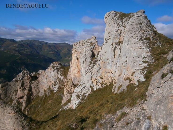 Sierra de Caranga, Proaza, in december, Asturias