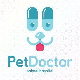 Pet+Doctor+logo  #logo, #mark, #design, #medical, #dog, #pet, #cat, #pills, #animal, #hospital, #vet, #veterinary, #puppy