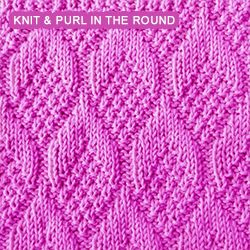 Knitting Cable Stitch In The Round : 1000+ images about Knitting - Stitch Patterns on Pinterest Cable, Knitting ...