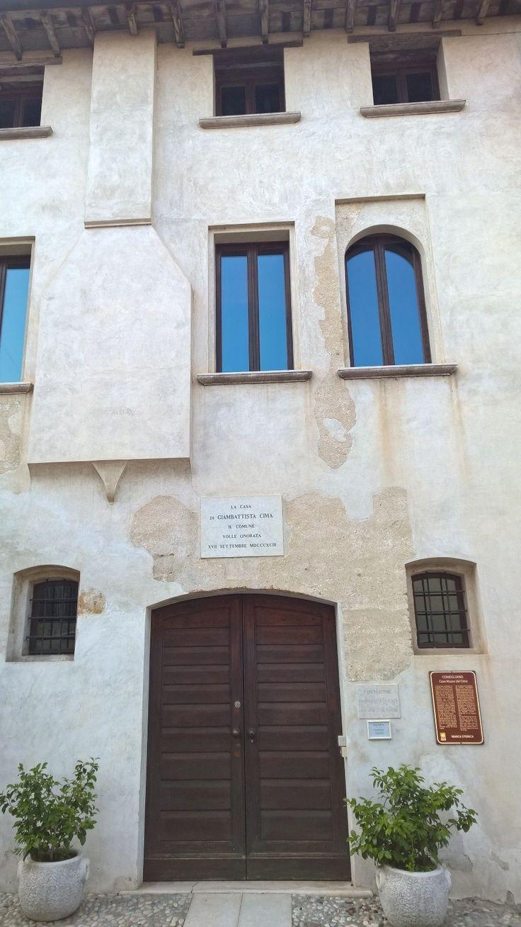 The home where Cima was born in Conegliano