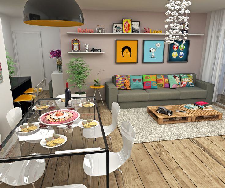 Já pensou em decorar sua casa com um visual Retrô? Aposte nos Objetos, Almofadas e Quadros para dar um ar retrô e despojado a sua casa.