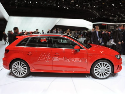 Audi Sportback e-tron officially unveiled at Geneva Motor Show