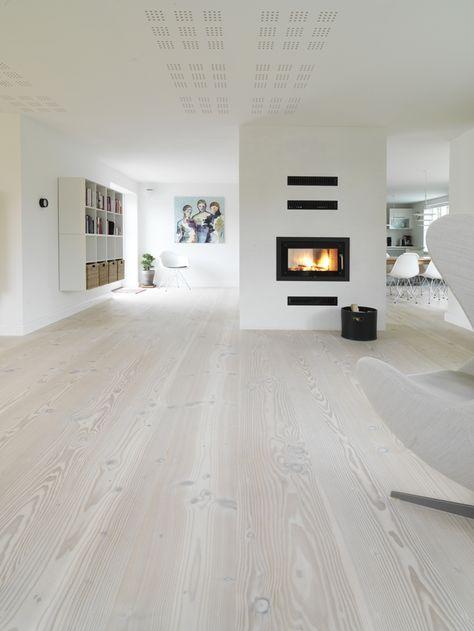 Die besten 25+ weißes Eichen Holz Ideen auf Pinterest Weiße - moderne bodenbelage fur wohnzimmer