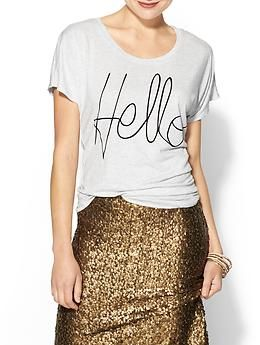 Hive & Honey Hello Tee