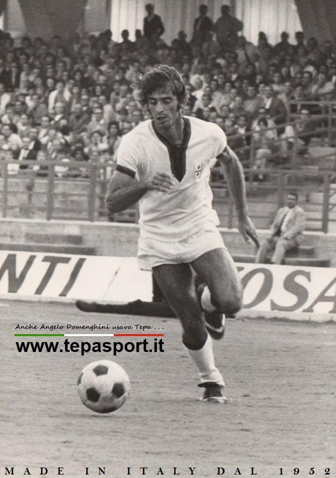 +Cagliari Calcio Angelo Domenghini ... ⚽️ C'ero anch'io ... http://www.casatepa.it/ Made in Italy dal 1952