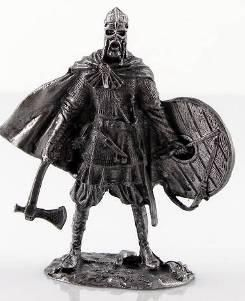 Военный вождь викингов, 10 век   Оловянная история