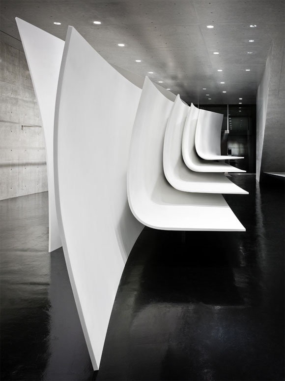 Neil Barrat flag ship store in Tokyo by Zaha Hadid Architects