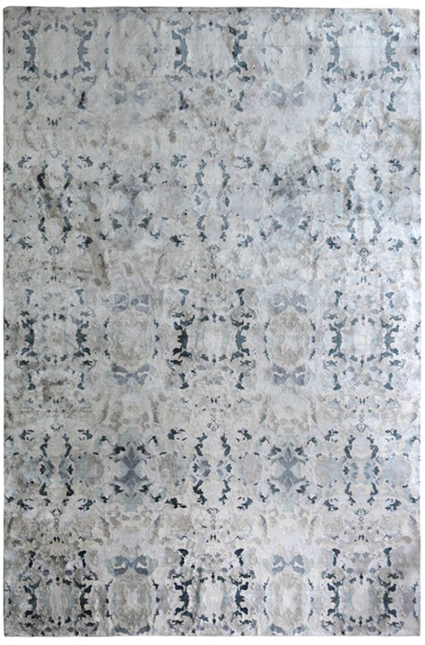 Awesome 10 Foot Square Rug Part - 7: 8×10 Alabaster U2013 Light Rug U2013 100% Silk U2013 In Stock | ESKAYEL · Square  RugsSquare FeetModern ...