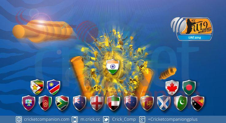 #Cricket #ICCU19WC2014 #India #Pakistan #Srilanka #Bangladesh #Australia #England #SouthAfrica #Westindies #NewZealand #Zimbabwe #ICCworldT20 #Asiacup2014 #Cricketcompanion #Futurestar