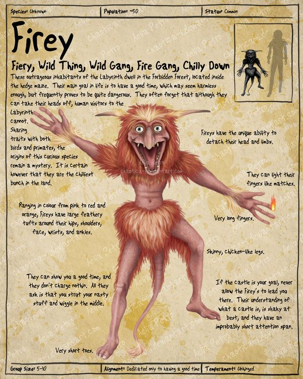 Labyrinth Guide - Firey Page 1 by Chaotica-I.deviantart.com on @deviantART
