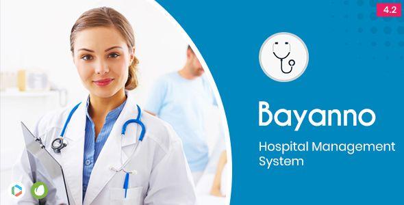 Bayanno Hospital Management System | PHP scripts | Center