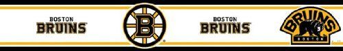Boston Bruins Peel and Stick Wallpaper Border by Boston. $17.87