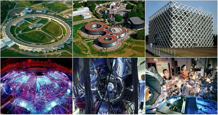 Самые красивые научные лаборатории мира: внутри и снаружи / Блог компании Airbnb / Geektimes