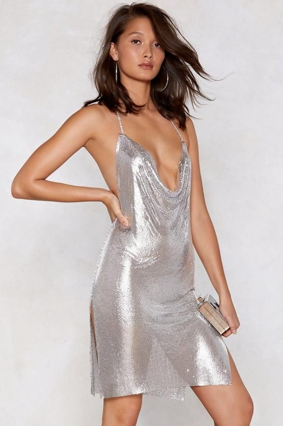 b7e892b82f0f You've Got Chainmail Cowl Dress in 2019 | Style | Dresses, Chain ...