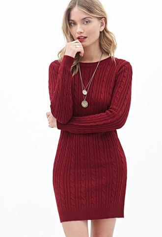 10 Best ideas about Knit Sweater Dress on Pinterest  Sweater ...