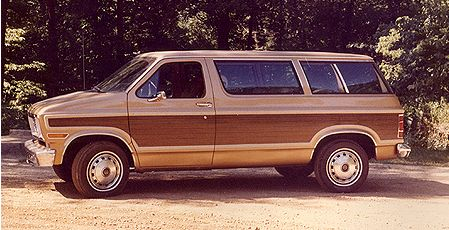 1972 Ford Carousel station wagon.