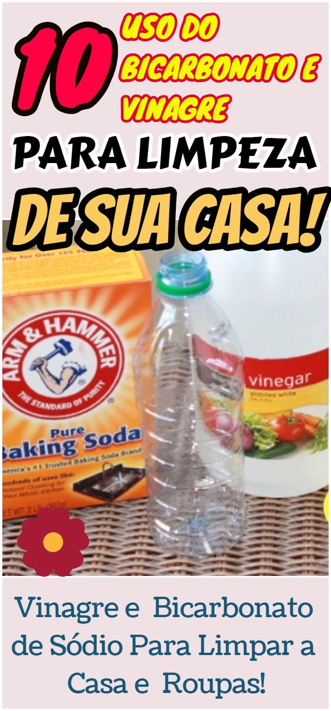10 Usos Do Vinagre E Do Bicarbonato De Sodio Para Limpar A Casa E