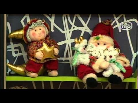 Clases de Manualidades Navideñas arlequines Paso a paso - YouTube