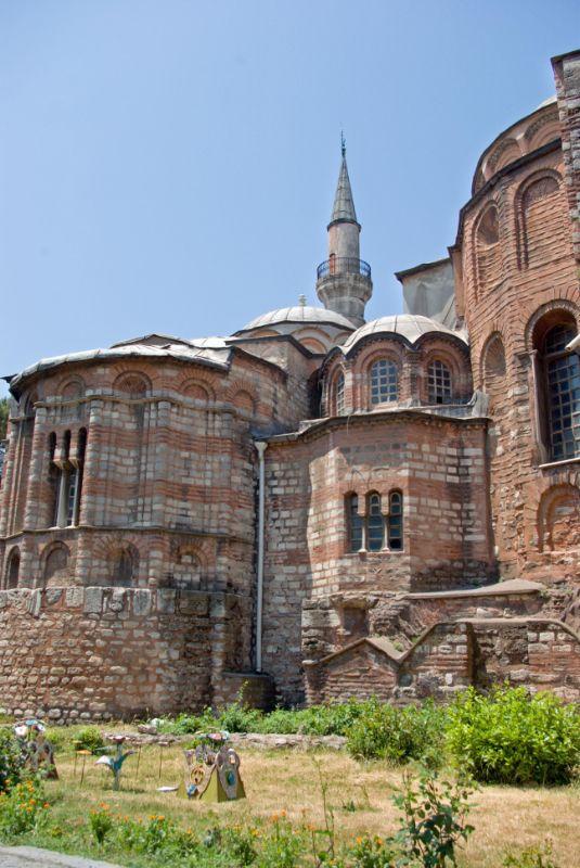 Kariye Museum. Istanbul, TURKEY