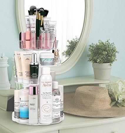 jerrybox kosmetik aufbewahrung 360 grad drehbarer make up. Black Bedroom Furniture Sets. Home Design Ideas