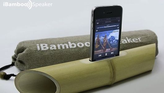 Most Eco-Friendly Speaker?    http://www.mnn.com/green-tech/gadgets-electronics/stories/ibamboo-most-eco-friendly-speaker-yet