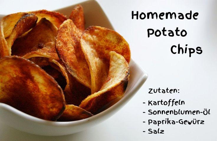 Homemade Potato Chips / hausgemachte Kartoffelchips / www.happiness-is-the-only-rule.de