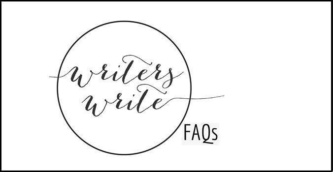 FAQs - Writers Write