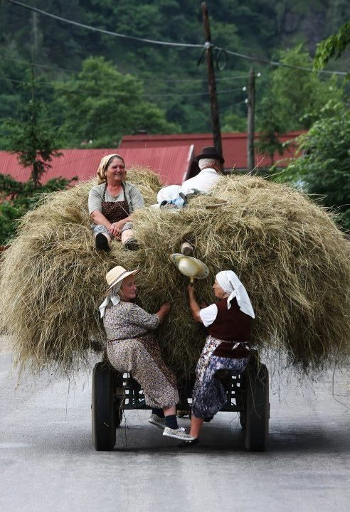 Romanian Rural LIfe. Much of Romania is still unspoiled and uncommercialised…