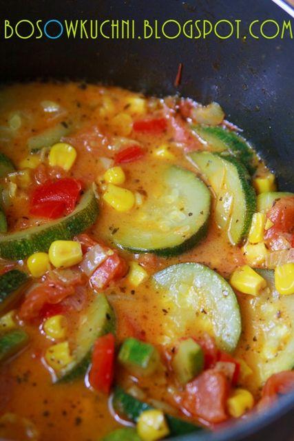 Vegetarian Stew with Zucchini / Gulasz warzywny z cukinią
