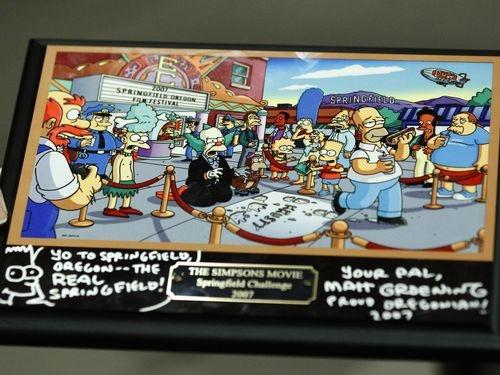 Criador dos Simpsons revela onde fica Springfield