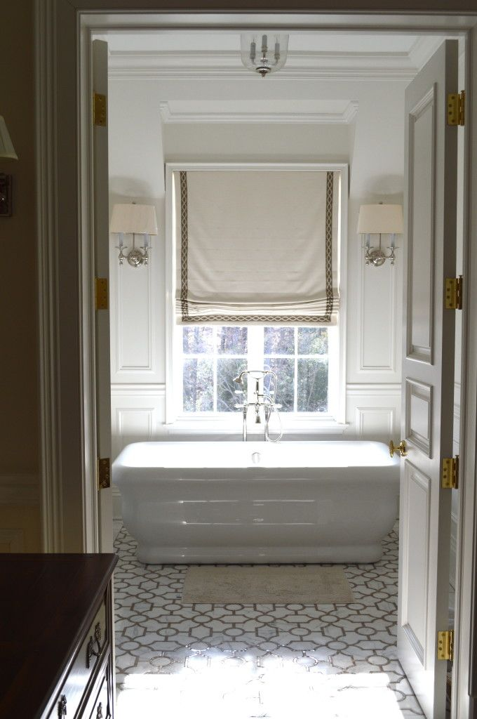 Beautiful Marble Bathroom   The Enchated Home
