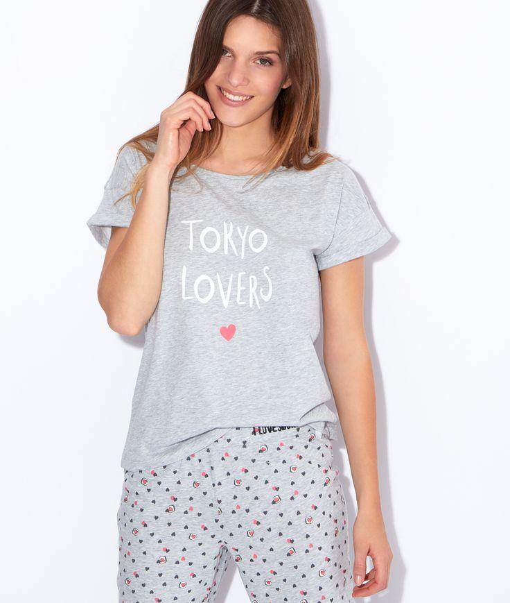 """Top imprimé """"Tokyo lovers"""""""