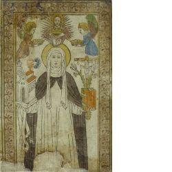 Die heilige Katharina von Siena