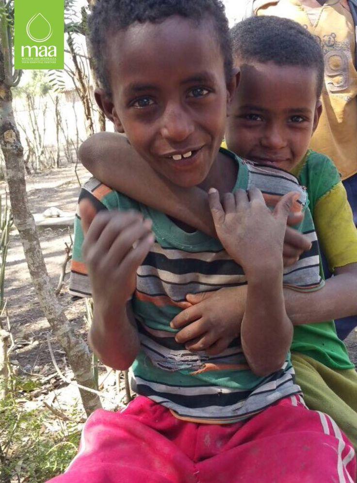 Cool kids in Ethiopia :)  #MuslimAidAustralia #MAA #SmartSustainableSolutions