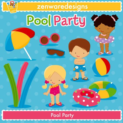 Pool Party Is Starting Soon