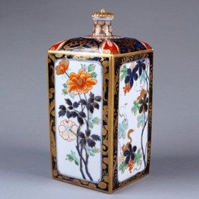 imari canisters: 1690 1720, Japanese Ceramics, Japan Porcelain, Japan Ceramics, Arita, Underglaz Blue, Albert Museums, Imari Styl Bottle, Overglaz Enamels