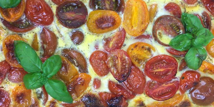 Cherry-Tomaten Tarte